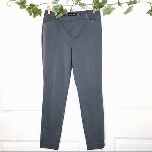 Ivanka Trump gray ankle dress pant trouser